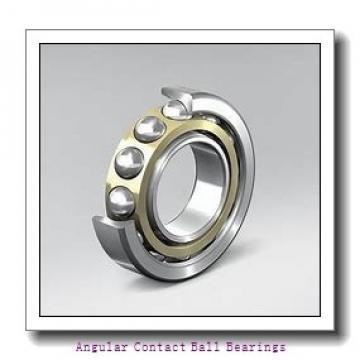 90 mm x 160 mm x 30 mm  SKF QJ 218 N2MA  Angular Contact Ball Bearings