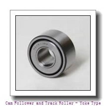 CONSOLIDATED BEARING STO-8-ZZ  Cam Follower and Track Roller - Yoke Type