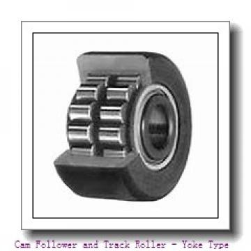 CONSOLIDATED BEARING NA-2203-2RSX  Cam Follower and Track Roller - Yoke Type