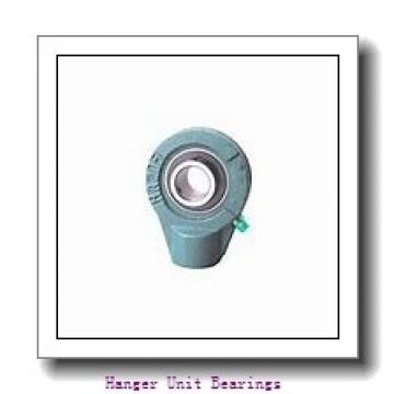 1.188 Inch | 30.175 Millimeter x 3.625 Inch | 92.075 Millimeter x 2.75 Inch | 69.85 Millimeter  SEALMASTER SEHB-19  Hanger Unit Bearings