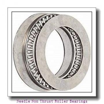 0.63 Inch   16 Millimeter x 0.945 Inch   24 Millimeter x 0.63 Inch   16 Millimeter  IKO TAF162416  Needle Non Thrust Roller Bearings