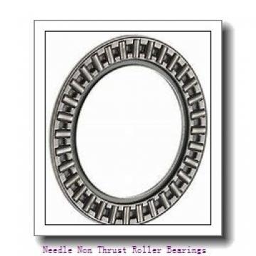 1.496 Inch | 38 Millimeter x 1.89 Inch | 48 Millimeter x 1.181 Inch | 30 Millimeter  IKO TAF384830  Needle Non Thrust Roller Bearings